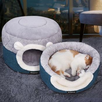 Dogs Cats Nest Winter Warm Sleeping Pet