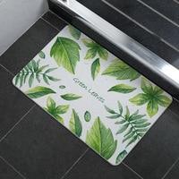 30s Absorbent and Quick-drying Floor Mats Bathroom Floor Mats Non-slip Natural Diatomaceous Earth Washing Non-fading Floor Mats
