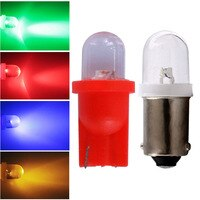 10pcs DC 6V T10 194 W5W #555 BA9S T4W Pinball LED Light for Bally Pinball Game Machine White Red Blue Yellow Green DC6V