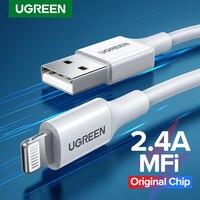 Ugreen MFi USB Kabel ist geeignet für iPhone 11 X Max 2,4 EINE Schnelle Chargi handy lade daten kabel, erweiterung