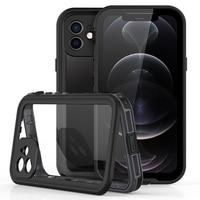 IP68 Real Waterdichte Case Voor Iphone 12 Pro Max 12 Mini 11 Pro X 10 Xr Xs Max Clear Onderwater bescherming Waterdicht Telefoon Case