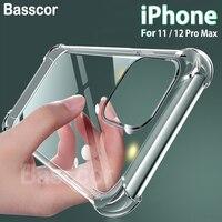 Original Luxus Silikon Anti Herbst Telefon Fall handyhülle Für Apple iPhone 11 Pro Max X XR XS Max 7 8 6 6S Plus 12 Pro Max TPU Airbag Abdeckung tasche