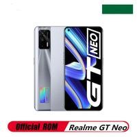 Lager Realme GT Neo 5G Handy Android 11,0 Bildschirm Fingerprint 12GB RAM 256GB ROM 6.43