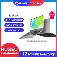 ALLDOCUBE Laptops i7 Book 14,1 zoll 8GB Ram 256GB SSD Windows 10 Notebook Intel®Core™I7-6660U Prozessor 1920 × 1080 IPS laptop
