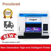 Procolor-2021 UV 프린터 A3, 유리 전화 케이스 나무 금속 병 다기능 LED 디지털 UV 평판 인쇄기