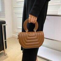 Cute Handbag High Quality Leather Shoulder Bags for Women Designer Purses Crossbody Bag Brand Saddle Bag Women Satchel Hand Bag