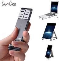אוניברסלי מחברת שולחן העבודה Stand מתקפל נייד Stand מחזיק מתכת סיבוב Tablet מחזיק עבור Samsung Xiaomi Huawei טלפון