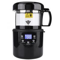 80-100g CE/CB 가정 커피 로스터 전기 미니 연기 커피 콩 베이킹 구이 기계 EU 플러그 220-240V 1400W