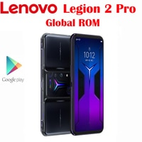 Globale ROM Offizielle Original Lenovo Legion 2 Pro 5G Handy Snapdragon888 6,92 zoll AMOLED 64,0 MP NFC 5500mah 45W Schnelle Ladung