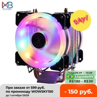 Effiziente Kühlung CPU Kühler Fan 3pin Für Intel LGA 1150 1151 1155 1156 775 1200 AMD AM3 AM4 Ruhig Ventilador stille Kühler