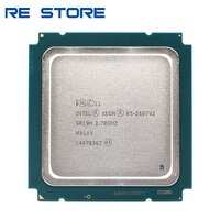 Verwendet Intel xeon e5 2697 v2 2,7 GHz 30M QPI 8GT/s LGA 2011 SR19H C2 E5 2697v2 CPU Prozessor 100% normale arbeit