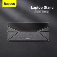 Baseus מחשב נייד Stand עבור Macbook Air Pro מתקפל תמיכה בסיס נייד שולחן שולחן נייד Stand מחזיק מחשב נייד קירור Riser