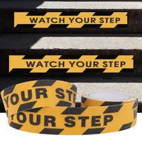 5M Anti Slip Tape Watch Your Step Non-slip Tape Floor Stair Step Anti Slip Abrasive Safety PVC Tape