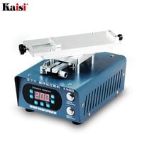 Kaisi 946S 최대 회전 LCD 유리 터치 스크린 분리기 기계, 아이폰 삼성 곡선 화면 빠른 분리 수리