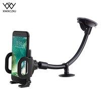 גמיש מתכוונן רכב מחזיקי טלפון נייד הר Stand ארוך זרוע שמשה קדמית לוח מחוונים טלפון רכב מחזיק עבור iPhone 11 Pro מקסימום