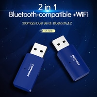 CF-727B USB WiFi Bluetooth Kompatibel 4,2 Adapter 1300Mbps Dual Band 2.4/5Ghz BT 4,2 Drahtlose Empfänger WiFi dongle Für PC/Laptop