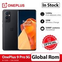 OnePlus 9 Pro 5G Smartphone 8GB 128GB Snapdragon 888 120Hz Flüssigkeit Display 2,0 Hasselblad 50MP Ultra-breite OnePlus Offizielle Shop; code: