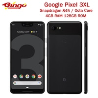 Original Google Pixel 3 XL Pixel 3XL Pixel XL3 Octa Core 4GB RAM 128GB ROM Android 9,0 NFC handy original schnelle ladegerät