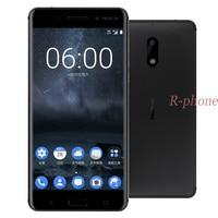 Entsperrt Nokia 6 LTE 4G 16MP Handy Android 7 Octa Core 5,5 ''Fingerprint 4G RAM 32G ROM Renoviert Telefon Nokia6