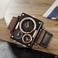 OULM-남성용 밀리터리 럭셔리 쿼츠 손목시계, 패션 시계, 남성용 시계, 드롭 쉬핑, 2020 년 베스트셀러 제품