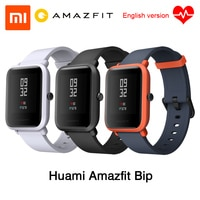 [영어 버전] Xiaomi Huami Amazfit Bip BIT IP68 방수 페이스 라이트 Youth Mi Fit Glonass, 샤오미 Huami Amazfit Bip BIT IP68 GPS 영어 버전 + GPS