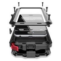 アーマーヘビーデューティ保護ケース11 360金属タンク耐衝撃iphone 7 8 6 6sプラスxr x xs 11 12プロマックスse