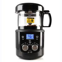 80-100g CE/CB 가정 커피 로스터 전기 미니 연기 커피 콩 베이킹 구이 기계 영국 플러그 220-240V 1400W