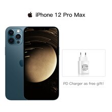 IPhone 12 pro max 5gスマートフォン,ロック解除,6.7