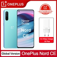 Globale Version OnePlus Nord CE 5G Smartphone Snapdragon 750G 90Hz Amoled Bildschirm Warp Ladung 30T Plus 4500mAh Handy