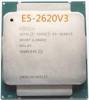E5 2620V3 Original Intel Xeon E5-2620V3 CPU 6-CORE 2,40 GHZ 15MB FCLGA2011-V3 85W 22NM Prozessor E5-2620 v3 freies verschiffen