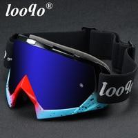 Looqo Marke Neue Außen Motorrad Brille Dirt Bike Männer Sonnenbrille Frauen Sport Zubehör Motocross Brille Moto Kreuz Google