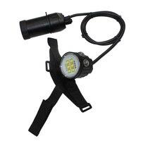 Uranusfire XHP90 LED 분할 유형 다이빙 손전등 토치 방수 100M 14 LED 캐니스터 다이브 램프 18650 수중 비디오 라이트