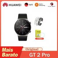 HUAWEI GT2 Pro GT 2 Pro SmartWatch Kirin A1 Chip14-days Life AMOLED 스크린 블루투스 통화 재생 음악 심박수 감지