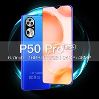 Globale Version Galay P50 Pro Smartphone 6,7 zoll 6000mAh 16GB 512GB 48MP MTK6989 10 Core Gesicht ID neue Handy 4G5G Handy