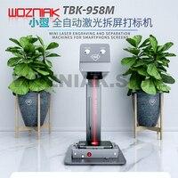 TBK-958M 레이저 조각 기계 미니 데스크탑 레이저 프린터 DIY 자동 절단 분리 기계 전화 다시 유리 수리
