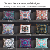 1PC Soft Short Plush Cushion Cover Home Decoration Bohemian Style Hug Pillowcase Household Super Soft Waist Pillowcase