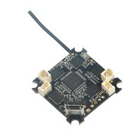 Happymodel turtlebee f3 controlador de vôo integrado osd medidor de corrente 4 em 1 5a 1s blheli_s esc para receptor para whoop drone