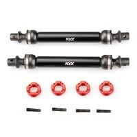 Kyx corrida de aço endurecido acessórios de peça de atualização de eixo central, para rc crawler, eixo axial caprina ilimitado, trail buggy, utb