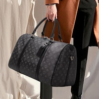 Luxury 2021 New Large-Capacity Travel Bag Printing Duffel Bag Large Handbag Fashion Fitness Bag Storage Bag Waterproof Bag
