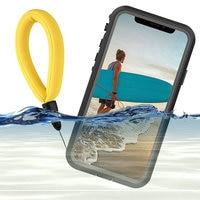IPhone用防水ケース,保護ケース付き,防水,360,iPhone 12 pro,11,11pro,xs,xr用