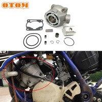 Otom motocicleta 47.5mm conjunto de cilindro 93210-84724/93210-56459/93450-16068 para yamaha yz80 yz85 cilindro bloco & pistão & base de cabeça