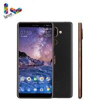 Original Nokia 7 Plus Android Smartphone 4GB RAM 64G ROM Snapdragon 660 Octa-Core 6.0 ''Display bluetooth 5,0 Entsperrt Handy