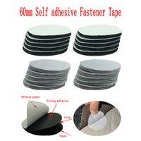5-30Pairs/Lot 60mm Strong Self Adhesive Fastener Dots Stickers Velcros Adhesive Tape For Bed Sheet Sofa Mat Carpet Anti Slip Mat