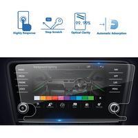 LFOTPP-차량용 멀티미디어 라디오 디스플레이 화면 보호기, 자동차 인테리어 보호 스티커, 옥타비아 Amundsen/콜럼버스 2018 2019