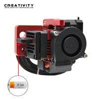 MK8 Direct Drive Hotend Alle Metall Extruder Upgrade Kit 3d touch Montieren 5015 Schlag Radial Lüfter Für Ender-3/CR10S/PRO Anet A8