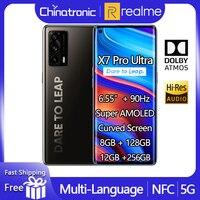 2021 realme X7 Pro Ultra 128GB 5G SA/NSA Handy Dimensity 1000 + 6.55