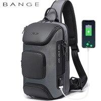Anti-theft New Multifunction Crossbody Bag for Men Shoulder Messenger Bags Male Waterproof Short Trip Chest Bag Pack