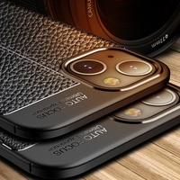 iPhone 12 Mini 11 Pro MaxAppleケース用iPhoneSE 2020 SE 2 7 8 5 S 6S Plus XRXSレザーPUソフトシリコンフォンバックケースカバー
