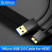 ORICO Micro USB 3,0 Kabel High-speed Daten Übertragung Daten Kabel USB Kabel Mobile Festplatte Kabel für Samsung hinweis 3 S5 HDD S