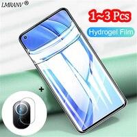 1~3 pcs, hydrogel film Mi 11i Xiaomi 11-T 11-i 10T Pro screen protector Mi 11 Lite 5G Mi11 Ultra weiche panzerglas mi 11 lite screen protector xiaomi 11i glass Mi 11T Xiaomi 11i